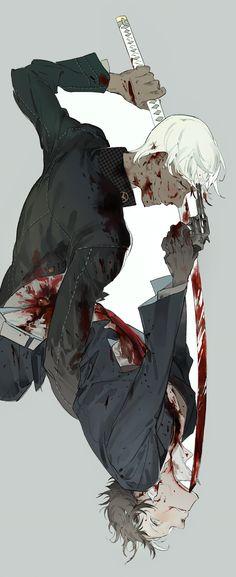 Bloody anime boys Kaninn