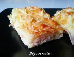 Pastel de sándwich de jamón york y queso