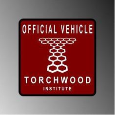"""TORCHWOOD DR WHO CAPTAIN JACK PARKING DECAL STICKER 4"""""""
