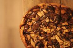 Prima peren koektaart met Nutella
