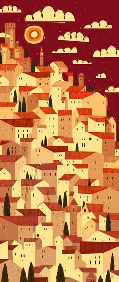 The Tiler by Peter Donnelly, via Behance