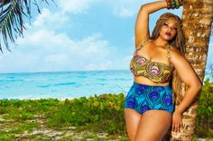 MonifC Swim Collection, Plus Size Bikini, Fatkini, Plus Size Swimwear Curvy Bikini, Plus Size Bikini, Plus Size Swimwear, Bikini Top, Anita Marshall, Curvy Girl Fashion, Plus Size Fashion, Plus Size Clothing Stores, Girls Swimming