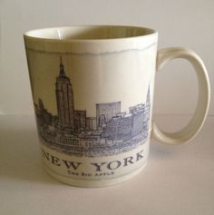 Starbucks Architect NYC coffee Mug! If he or she is an #architect and loves New York City you just scored the perfect  gift with this Starbucks Mug with an architectural view of The Big Apple! #nycfitnessfamilyfinds.net