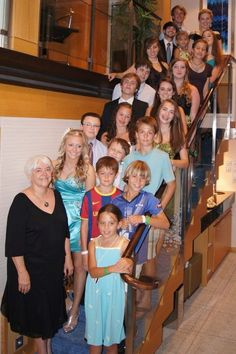 What an amazing group of gorgeous children and youth: our family's blessing
