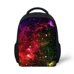 3D Children Galaxy Printed Schoolbags Kids Small Book Bags Preschool Kindergarten Bag School Bags for Girls Mochilas School Kids