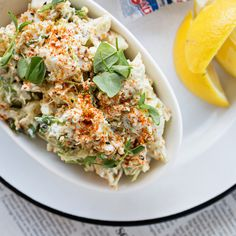 Crab Crema. Recipe from Chef Ari Kolender of Leon's Oyster Shop, Charleston, SC. Photo by Andrew Cebulka.