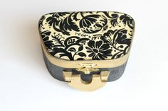 Black and White Decorative Box Jewelry Box by BlingNThingsbyPenny, $28.00 #Etsy