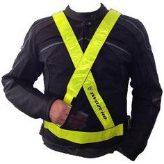 TwoZero Reflective X Belt - Yellow