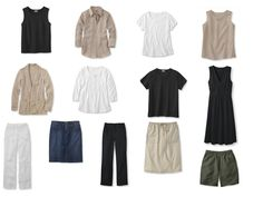 13 garments make 81 outfits - the easiest summer capsule wardrobe ever from The Vivienne Files
