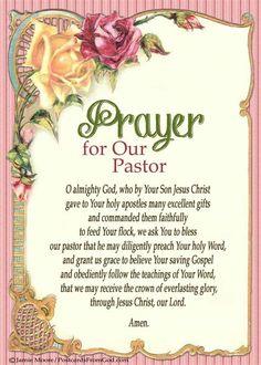 Pastor Appreciation Poems Or Quotes.