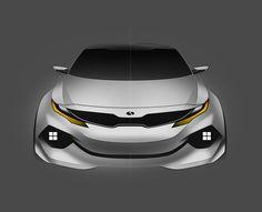 Kia K5 2022 Concept on Behance
