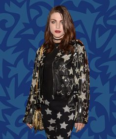 Frances Bean Cobain Just Landed Her First (& Maybe Only) Fashion Gig #refinery29 http://www.refinery29.com/2017/01/137853/frances-bean-cobain-marc-jacobs-spring-campaign