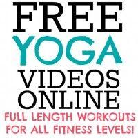 Free Yoga Workouts Online