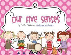 Kindergarten Smiles: Five Senses (freebies)