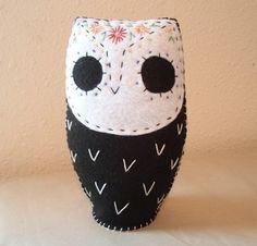 Dia De Los Muertos Owlie byGreen Owl Curiosties