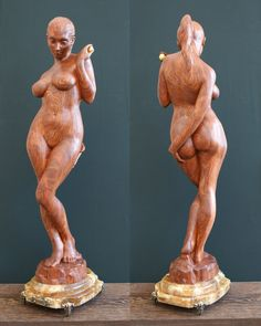 """Collection of erotic woodworks » Wooden sculpture """"Eva"""" by Kvitka Anatoly"""