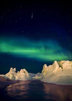 Aurora boreal en Canada