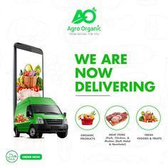 Organic vegetable social media post design for Agro Organic. Creative Poster Design, Ads Creative, Creative Posters, Creative Advertising, Social Advertising, Social Media Poster, Social Media Banner, Social Media Design, Social Media Automation