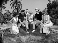 """Gilligan as""""mayor"""" is digging a new well"""