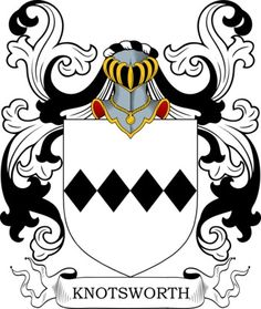 Knotsworth Family Crest and Coat of Arms