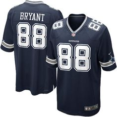 NFL Youth Elite Nike Dallas Cowboys #88 Dez Bryant Team Color Jersey