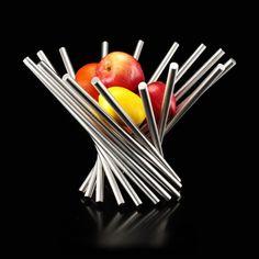 30 Modern Fruit Bowls With Decorative Centerpiece Appeal - http://www.home-designing.com/2016/03/modern-fruit-bowls-with-decorative-centerpiece-appeal