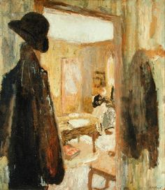 Édouard Vuillard - The Open Door, 1904