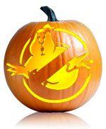 Ghostbusters Pumpkin Stencil