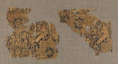 Textile with Pattern of Birds and Stars Object Name: Fragment Date: 11th–12th century Geography: Iran Culture: Islamic Medium: Silk; samite