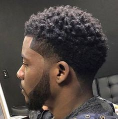 black hairstyles braids to the side Black Man Haircut Fade, Drop Fade Haircut, Fade Haircut Styles, Black Hair Cuts, Black Boys Haircuts, Tapered Haircut, Black Men Hairstyles, Dope Hairstyles, Curly Hair Cuts