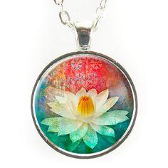 Lotus Flower Necklace – CellsDividing
