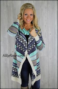 mints, teen fashion, point of view, style, color, outfit, mint cardigan, sweater cardigan, tribal prints