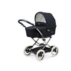 Pram Peg Perego Young Zaffiro (339,00) Navy with White Tires