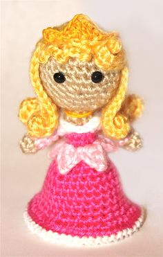 Aurora Princess amigurumi crochet pattern by Sahrit
