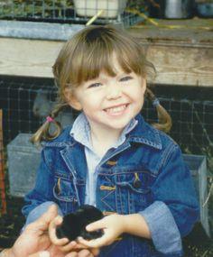 """The """"Real"""" Pumpkin as a little girl"""
