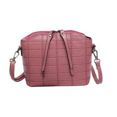 Vintage Women Handbags Crossbody Messenger Bags PU Leather Hobos Zipper Slim Shoulder Bags Small Body Bags Dropshipping jl5