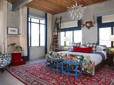 Industrial Coziness - Our Favorite Sarah 101 Designs on HGTV