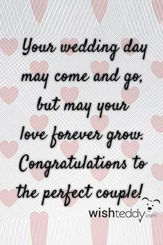 Looking what to write in a wedding card? Use our guide with 108 examples of wedding wishes for perfect wedding congratulations messages! Wedding Wishes Messages, Wedding Card Quotes, Wedding Day Wishes, Wedding Humor, Wedding Cards, Wedding Invitations, Message Quotes, Message Card, Party Make-up