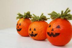Mandarines d'Halloween