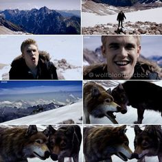 wolfblood rhydian howling - Google Search