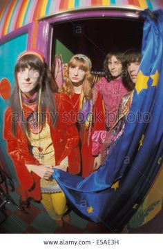The Fool Dutch Design Collective At Their Studio In The Beatles Apple Stock Photo, Picture And Royalty Free Image. Sixties Fashion, Mod Fashion, Vintage Fashion, Gothic Fashion, Psychedelic Fashion, Swinging London, Pencil Skirt Black, Pencil Skirts, Burlesque Costumes