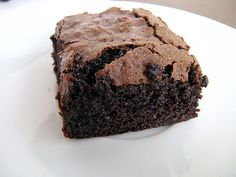 Baileys brownies. These were really good and just the right amount of baileys