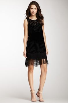 Marlowe Fringe Silk Blend Dress on HauteLook