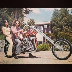 Tandem Love | 62' Panhead chopper