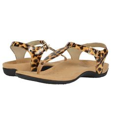 """Vionic Paden Sandal: """"I like Vionic sandals because a podiatrist created the company. No one knows the foot's biomechanics better than a podiatrist. When the Vionic shoes where constructed, shock absorption and arch support where highly taken into consideration."""" —Hilary Brenner, New York City-based podiatrist"""