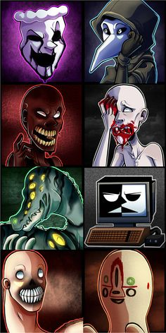 32 Best /Creepy Pasta~SCP\ images in 2019 | Horror, Comic strips