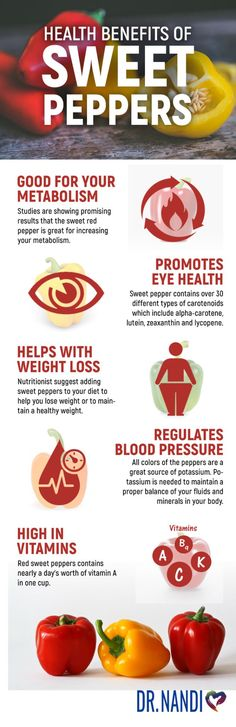 Health benefits of sweet peppers include increasing metabolism and weight loss, promoting eye health, and regulating blood pressure. Lemon Benefits, Health Benefits, Health Tips, Red Pepper Benefits, Benefits Of Bell Peppers, Bitter Greens, Sweet Red Pepper, Tomato Nutrition, Stuffed Sweet Peppers