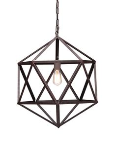 Small Amethyst Ceiling Lamp by Zuo at Gilt