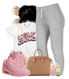 """""""Untitled #502"""" by b-elkstone ❤ liked on Polyvore featuring Ray-Ban, NIKE, Givenchy, MICHAEL Michael Kors and Giani Bernini"""