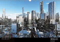 VIRTUAL CITY 2017 CH-Version Virtuelle Architektur - moderne Stadtansichten. VIRTUAL CITY - moderne Stadtansichten zwischen Minimalismus und Komplexität - ein absoluter Blickfang in jedem Raum oder Büro. Kalender mit Fest- und Feiertagen für die Schweiz.